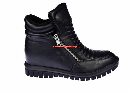 ce3c1a39 Botki damskie street sneaker motocyklowe sneakersy American G-C16338A