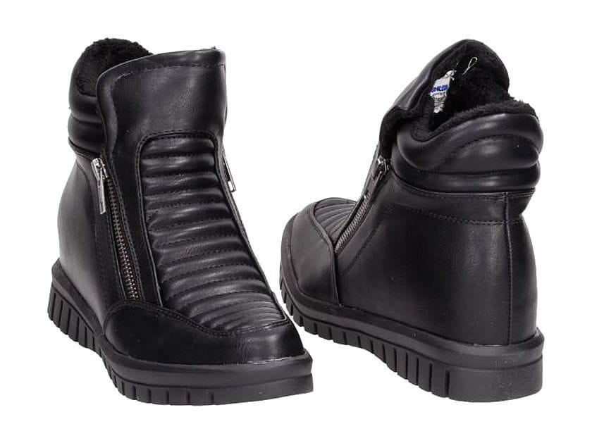 a0a0eede Botki damskie street sneaker motocyklowe sneakersy American G ...